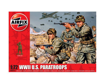 WWII U.S. Paratroops 1:72 - A00751
