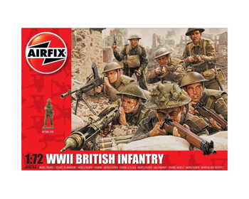 WWII British Infantry 1:72 - A00763