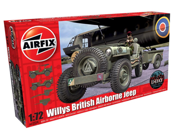 Willys British Airborne Jeep - A02339