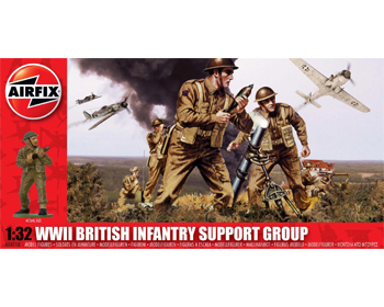 British Infatry Support WWII - A04710