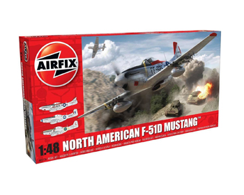 North American F-51D Mustang 1/48 - A05136