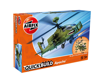 Airfix Quick Build Apache Helicopter - J6015