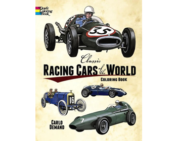 Classic Racing Cars of the World Litabók - 9780486242941