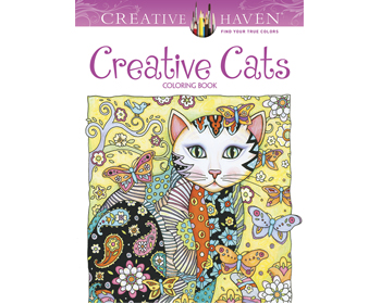 Creative Cats Litabók - 9780486789644