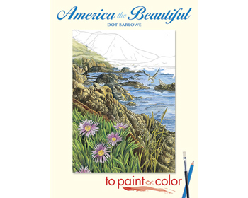 America the Beautiful, paint or color Litabók - 9780486448114
