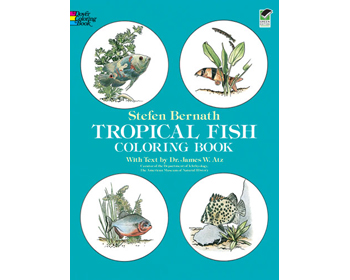 Tropical Fish Litabók - 9780486236209
