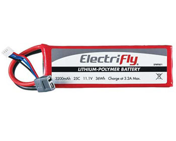 Great Planes 11,1V 3200mAh 25C - GPMP0871