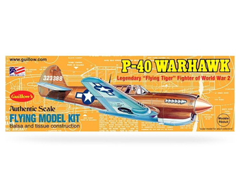 Guillows Curtiss P-40 Warhawk - GU0501
