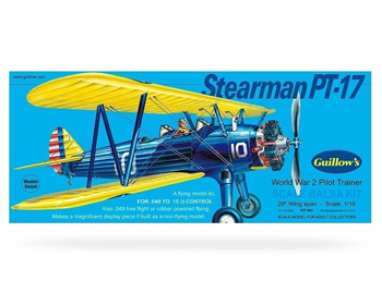 Guillows Stearman PT-17 Trémódel - GU0803