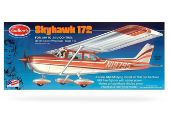 Guillows Cessna 172 Skyhawk 1:12 Trémódel - GU0802