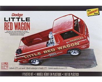 "Dodge ""Little Red Wagon"" 1/25 - HL115"