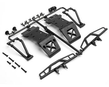 105298 - Bumper/Skid plate set Savage XS