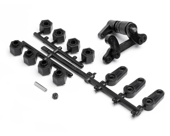 105300 - Steering arm/Servo saver set
