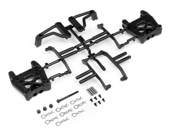 105312 - Shock Tower/Body mount/Roll bar set Savage XS