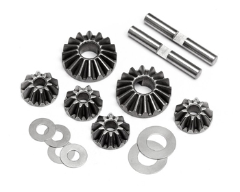 106717 - Gear Diff Bevel gear set Savage XS