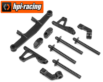 115302 - Body post/camber link set