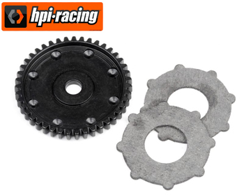 116357 - 43T Steel spur gear