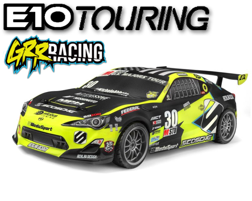 HPI E10 Michele Abbate GRRRACING Touring Car - 120090