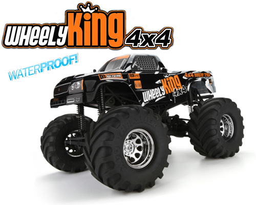 Wheely King 4x4 Monster Truck RTR - 106173