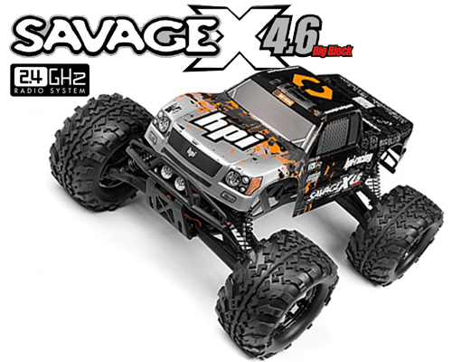 Savage X 4.6 2.4GHz RTR - 109083