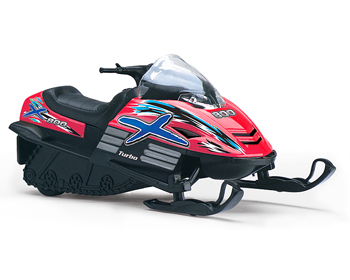 Kinsmart Snowmobile - 92674R
