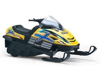 Kinsmart Snowmobile - 92674Y