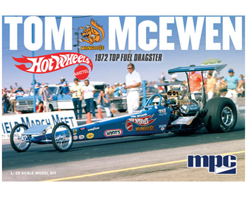 "Dragster ´72 Tom ""Mongoose"" McEwen 1/25 - MPC-855"