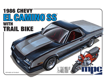 Chevrolet El Camino SS with dirt bike - MPC888