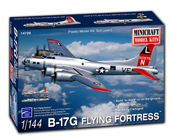 Boeing B-17G Flying Fortress 1:144 - 14726