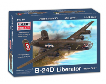 Consolidated B-24D Liberator 1:144 - 14735