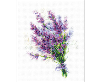 Bouquet with Lavender Kross-saumasett - RL1607