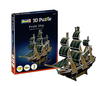 Revell Pirate ship 3D Pússla - 00115