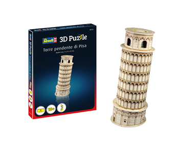 Revell Leaning Tower of Pisa 3D Pússla - 00117