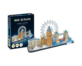 Revell London Skyline 3D Pússla - 00140
