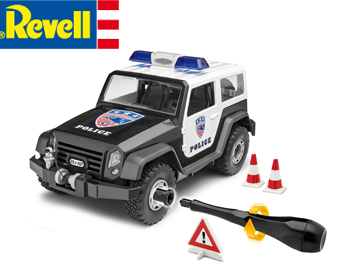 Revell Junior Off-road Police Vehicle -  00807
