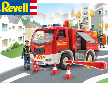Revell Junior Fire Truck - 00819