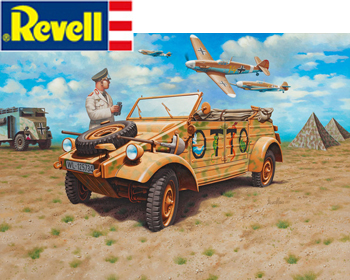 German Staff car Type 82 Kuebelwagen 1:35 - 03253