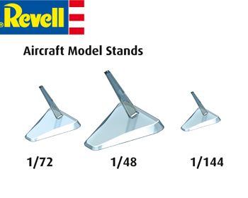 Aircraft model stands 3 stk. - 03800