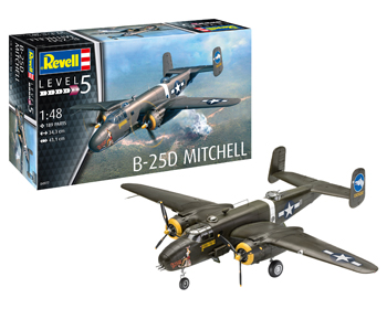 North American B-25D Mitchell 1:48 - 04977