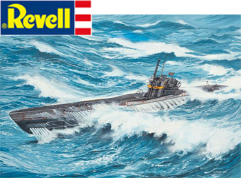 German Submarine Type VII C/41 Atlantic version- 05100