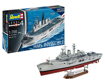 H.M.S. Invincible (Falkland war) - 05172