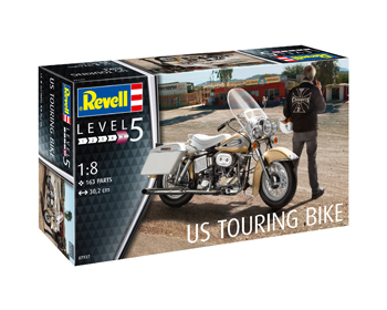 US Touring bike 1/8 - 07937
