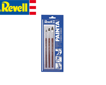 Revell Flat brush pensla set - 29610