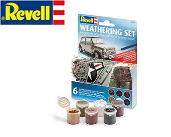 Weathering set 6 litir - 39066