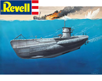 German Submarine Type VII - 05093