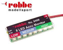 ACCUMONITOR 8-LED - 8409