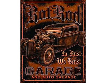 Rat Rod Garage sign - TD1895