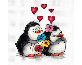 Penguins in love Kross-saumasett - 8-287