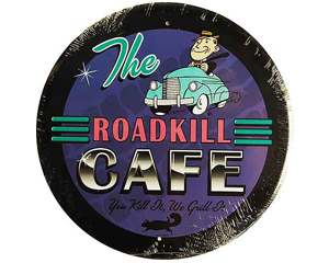 The Roadkill Cafe sign - RD99