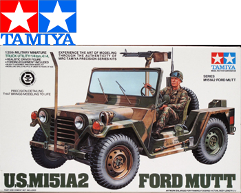 M151A2 Ford MUTT 1:35 - 35123